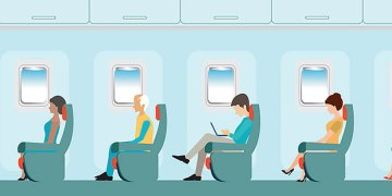 Managing your back pain while flying