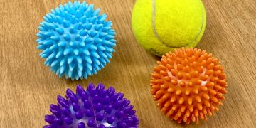 How to use a massage ball